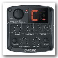 CHERUB GT-3 Гитарный пьезодатчик с эквалайзером и тюнером
