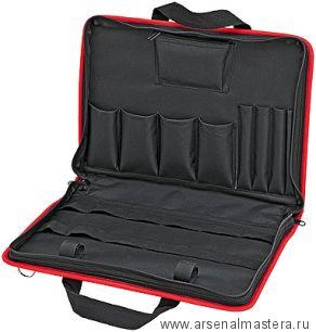 Компактная инструментальная сумка для сервисных работ (пустая) KNIPEX 00 21 11 LE