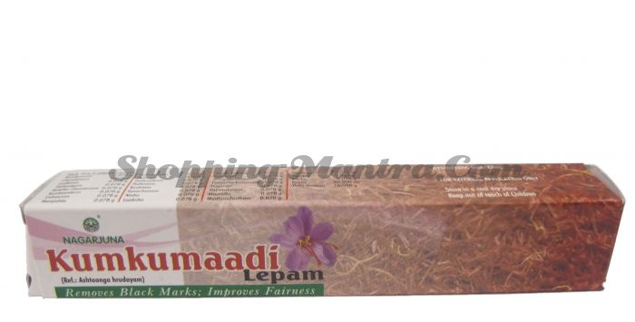Кумкумади лепам крем для лица восстанавливающий Нагарджуна (Nagarjuna Kumkumadi Lepam)