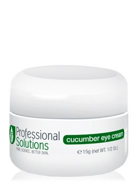 Professional Solutions Крем для кожи глаз с огурцом
