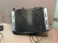 радиатор с декоративной накладкой  Suzuki  GSF400 Bandit