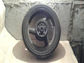 колесо заднее в сборе, тормозной диск, демпфер, звезда  Honda  CB400