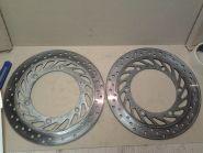 передние тормозные диски (комплект, левый и правый)  Honda  CBR1000F