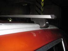 Багажник на крышу со встроеными рейлингами, Atlant, прямоугольные дуги