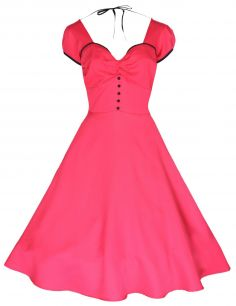 ce2ae2261f8 Красное платье в белый горох