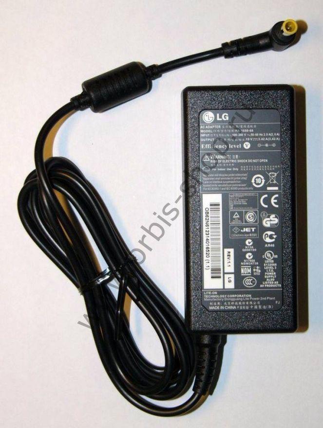 Сетевой адаптер для монитора LG, 19V, 3.42A
