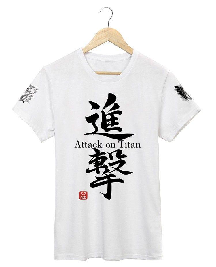 """Аниме футболка """"Attack on titan"""" ver. 2"""