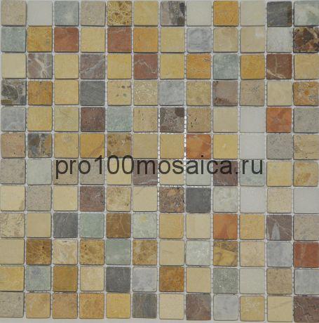 MOSES 23.8*23.8 TUM. Мозаика серия STONE ,  размер, мм: 305*305 (ORRO Mosaic)
