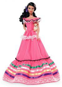 Кукла Барби Мексика, серия Куклы мира, BARBIE