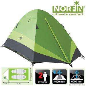 Купить Палатка 2-х местная Norfin ROACH 2 NF-10105