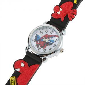 черные наручные часы Человек-паук