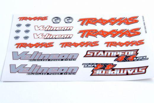 Decal Sheet, Stampede 4X4 VXL - TRA6713