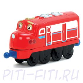 Chuggington. Die-Cast. Паровозик Уилсон
