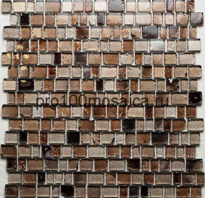 Efes Dark. Мозаика серия GLASS, размер, мм: 309*309 (ORRO Mosaic)