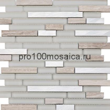 ELEKTRO II. Мозаика серия GLASSTONE,  размер, мм: 298*298 (ORRO Mosaic)