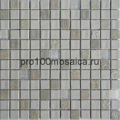 Cornsilk. Мозаика серия GLASS, размер, мм:300*300 (ORRO Mosaic)