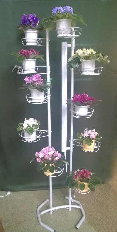 "Стойка ""ДЛ (с лампой)""  на10 цветов"
