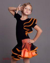 """Комплект для бальных танцев латина  """"Orange"""""""