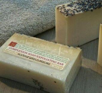 Мыло для лица с овсяной мукой (отшелушивающее) 150 гр