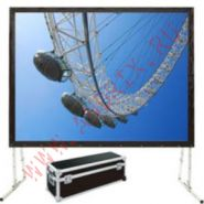 Экран натяжной сборно/разборный Classic Solution Premier Corvus 345х203 (16:9)