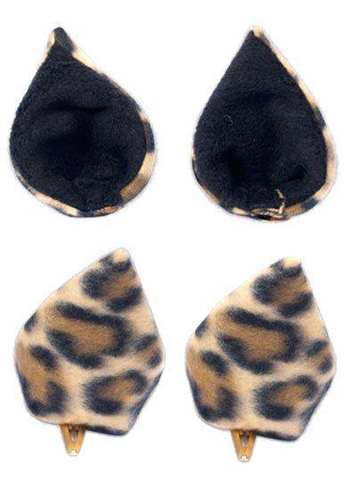 Ушки Sweet Kawaii Clip on Cat Ears - Leopard
