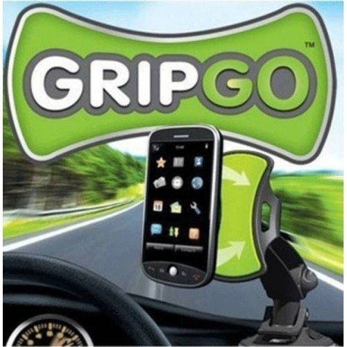 Универсальный держатель для телефонов, gps и планшетов GripGo (Грип Гоу), вращающийся на 360 градусов