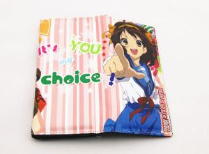 Бумажник Melancholy Haruhi Suzumiya