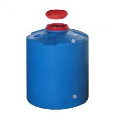 Емкость для воды 700 литров цилиндрическая из пластика