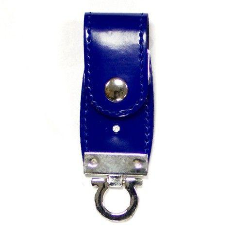 16GB USB-флэш накопитель Apexto U503C гладкая синяя кожа OEM