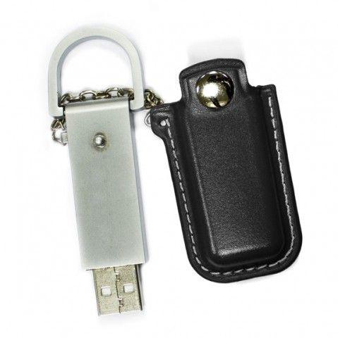 16GB USB-флэш накопитель Apexto U503E гладкая черная кожа OEM