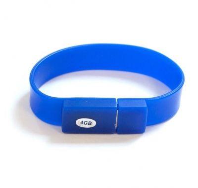 16GB USB-флэш накопитель Apexto U601A браслет синий