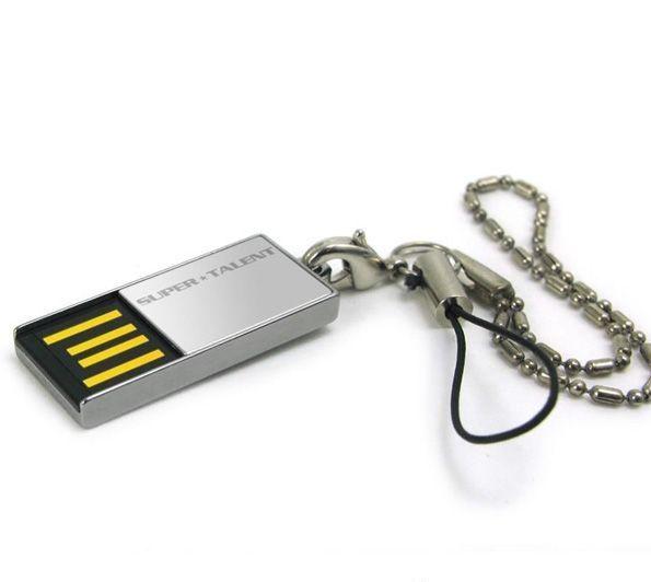 4GB USB-флэш накопитель Supertalent Pico C водонепроницаемая мет. корпус