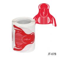 Универсальные одноразовые формы (бумажные, на клейкой основе) JT-07В, 100 штук