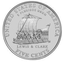 5 центов США Лодка