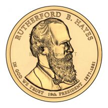 1 доллар США 2011 год Серия Президентские доллары Ратерфорд Хейз