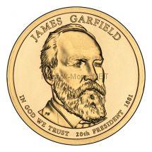 1 доллар США 2011 год Серия Президентские доллары Гарфилд Джеймс