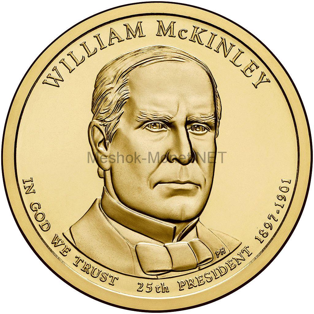 1 доллар США 2013 год Серия Президентские доллары Уильям Мак-Кинли