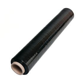 Ручная стретч пленка черная толщина 20мкм, ширина 500мм, вес 2,0кг