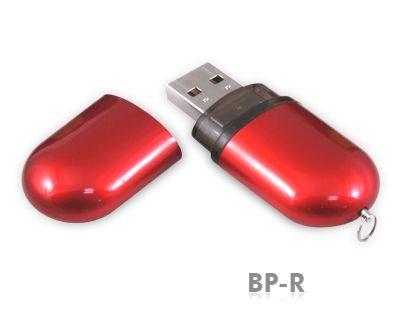 4GB USB-флэш-накопитель Supertalent BP-R красный глянец