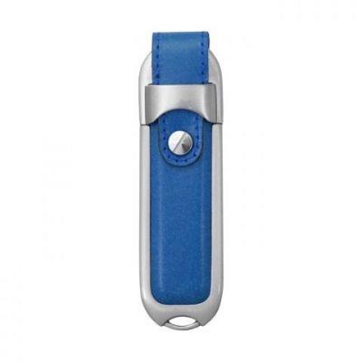 8GB USB-флэш накопитель Supertalent DL-BL синяя кожа без блистера