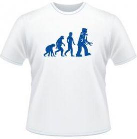 TBBT футболка шелдона робо эволюция