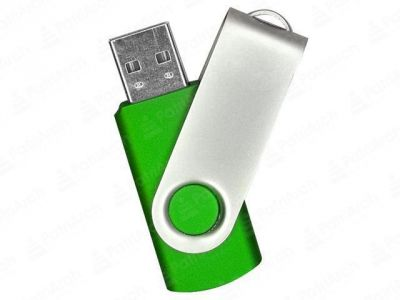 16GB USB-флэш накопитель Supertalent SM-RG раскладной зеленый(362С)  без блистера