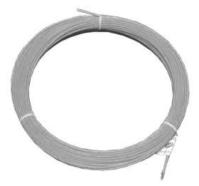 Протяжка кабельная (мини УЗК в бухте), 3м, нейлон, d=3мм, латунный наконечник, заглушка.