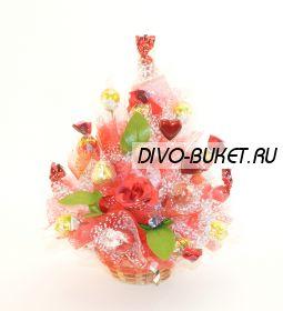 """Букет из конфет №550 """"Любимый"""""""