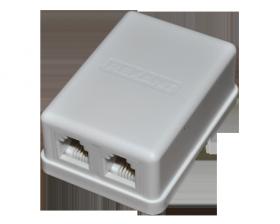 Телефонная розетка - 2 6P-4C REXANT