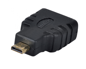 ПЕРЕХОДНИК гн.HDMI - шт.Micro HDMI GOLD REXANT