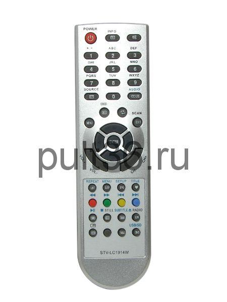 Пульт ДУ Supra STV-LC1914W/TVD34 (Mystery MTV-1910LW)