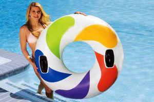 Плавательный надувной круг Intex
