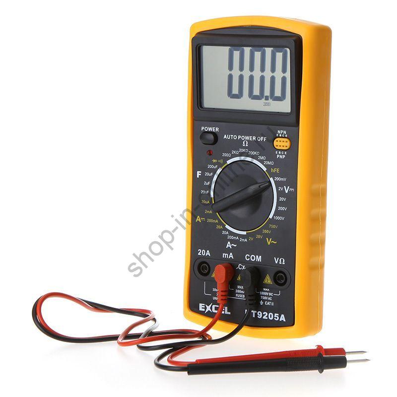 Мультиметр тестер цифровой Dt9025a