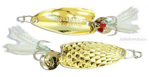 Блесна Kosadaka Pin Spoon 40мм /  5 грамм /  Gold